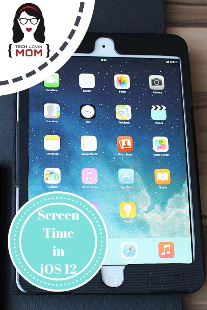 Screen Time in iOS 12