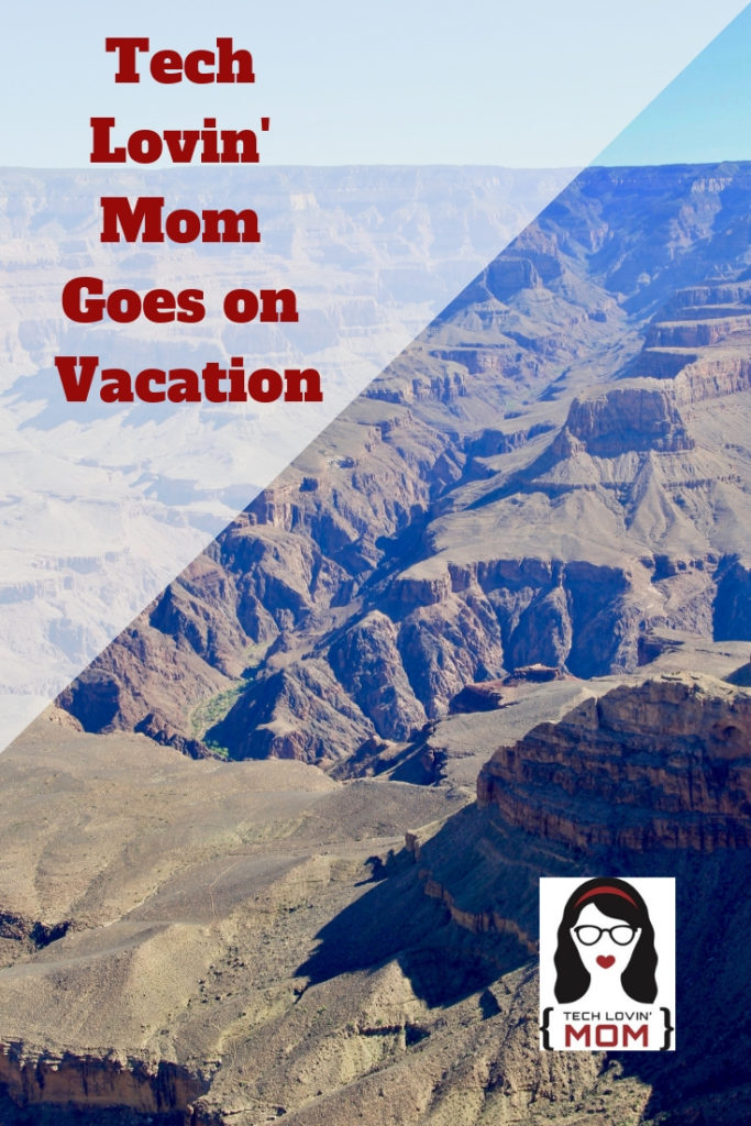 Tech Lovin' Mom Goes on Vacation